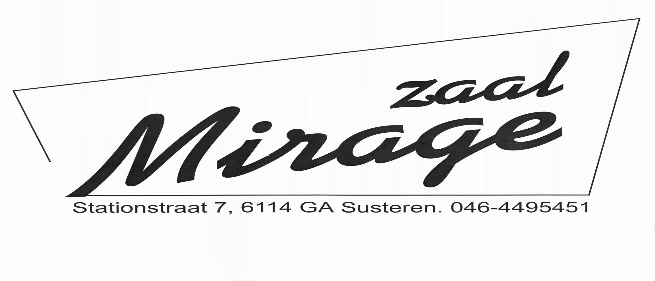 Zaal Mirage